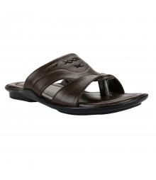 Cefiro Brown Slipper for Men - CSP0036